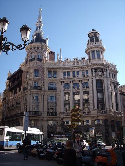 Площадь Каналехас - одна из моих любимых в Мадриде.
